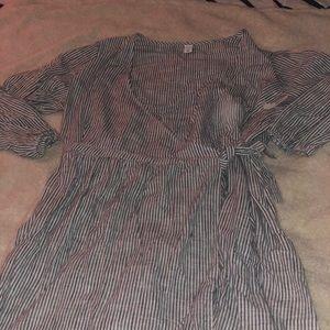 Brand New Old Navy Striped Dress